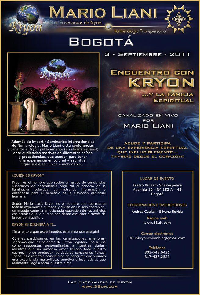 Kryon - Bogota