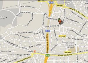 Mapa Sant Cugat