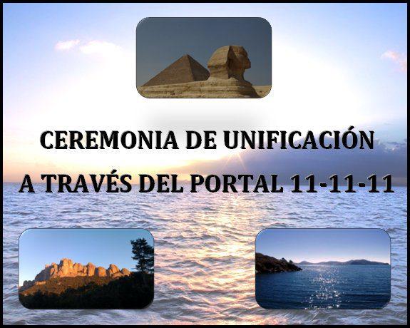 Ceremonia de Unificacion 11-11-11