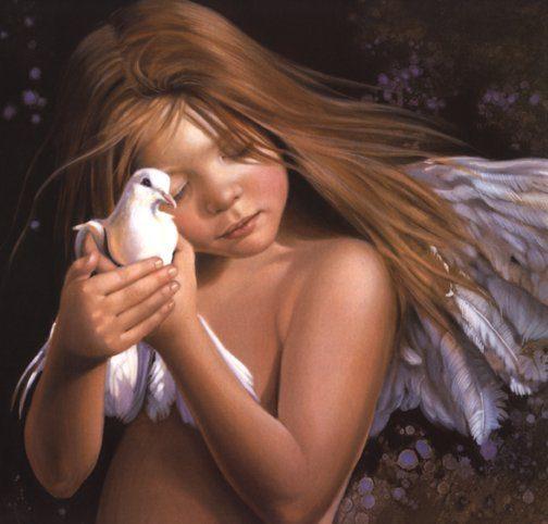 Niña - Angel - Paloma de la Paz