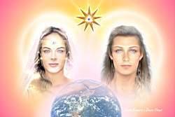 Diosa Venus y Sanat Kumara