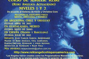 Curso de Angelic Reiki  en Argentina, Chile , Uruguay y España