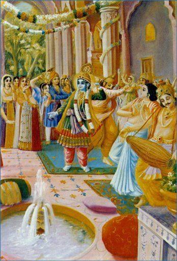 Bhagavad Gita - Krishna_Hastinapura
