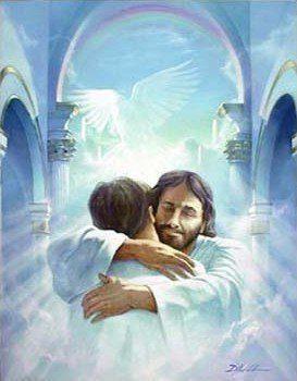 Jesus dando la bienvenida