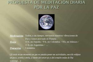 Red de 5 minutos diarios por la Paz en la Tierra