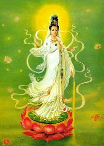 hermandadblanca.org   Kwan Yin 215x300 Diosa Kwan Yin fondo verde     description multimedia