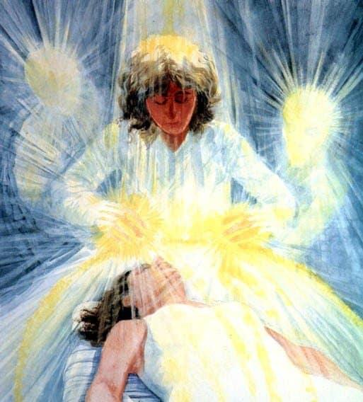 Sanación por imposición de manos con energía - hermandad blanca - hermandadblanca.org