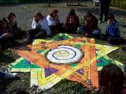 Circular 45 Mandala 1