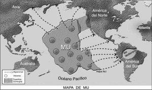 El continente perdido de LEMURIA - Mapa de MU - hermandadblanca.org