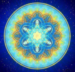 Mandala rayo azul hermandadblanca.org