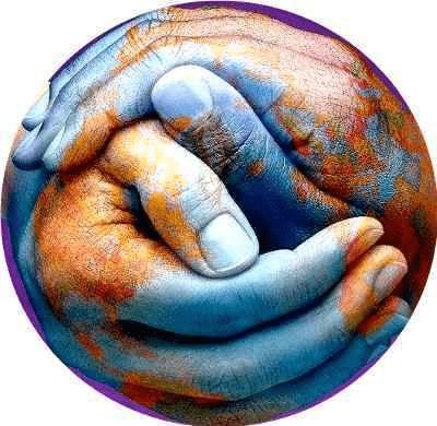 mundo entre manos tierra  gaia hermandadblanca.org