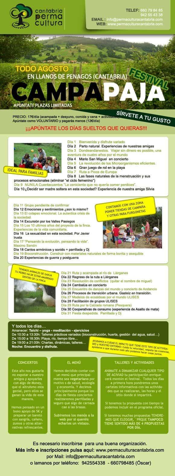 festival Campa Paja Permacultura hermandadblanca.org