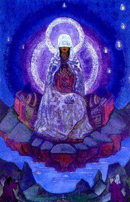 ROERICH - La madre del mundo - señora Inmaculata