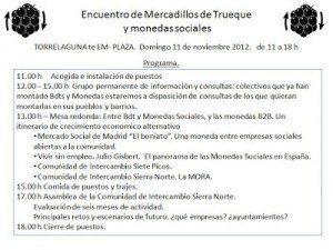 Concejo de la Mora Sierra de Madrid España con asamblea y moneda social