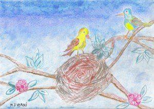 Scan00106 300x213 Cuento para niños: El pájaro y la estrella por María Jesús Verdú Sacases