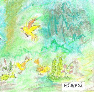 Scan0044 300x293 Cuento para niños: El pájaro y la estrella por María Jesús Verdú Sacases