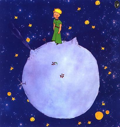 El Principito en la luna