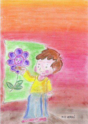 Terapia de dibujo con niños y adultos