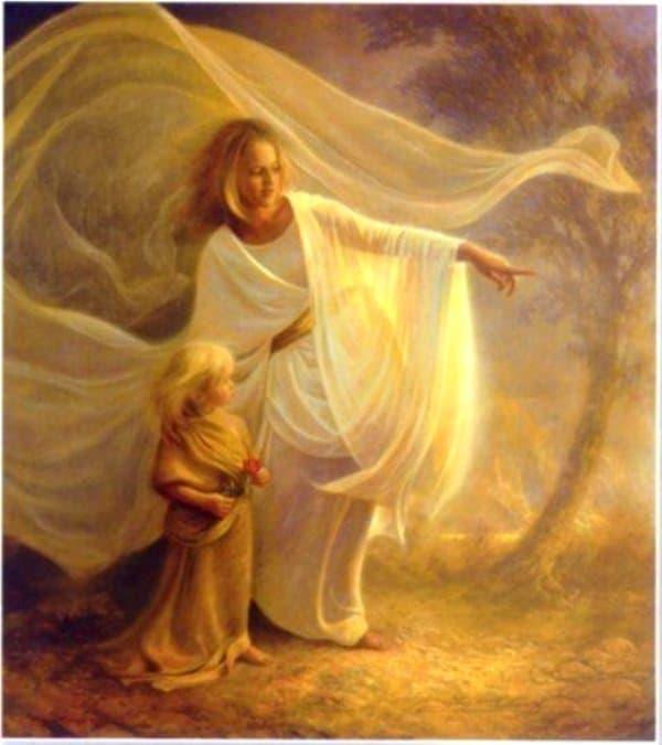 Rayo dorado 6 - angel dorado