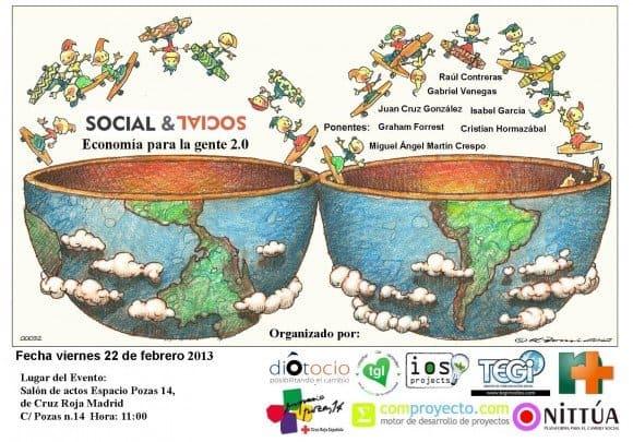 Una gran ola de creatividad y esperanza que arranca con Social&Social: Economía para la gente 2.0