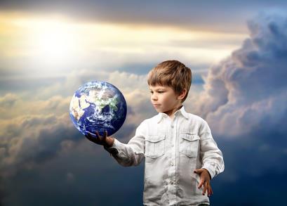 GHB - gaia en las manos de un niño