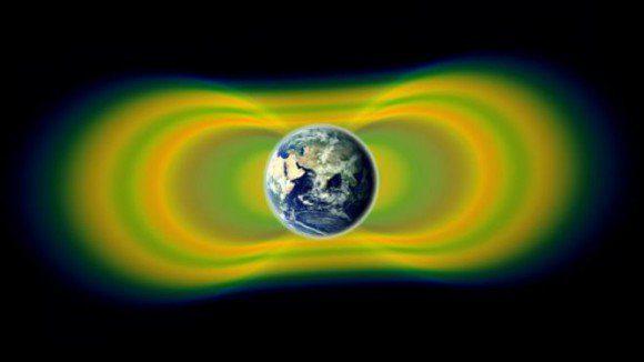 Radiación alrededor de la Tierra