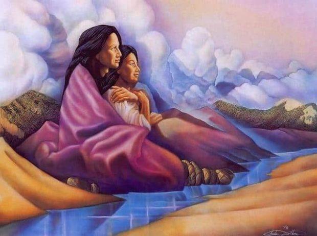 Mujeres-chamanas-abrazándose