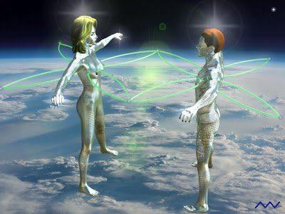 kai Red de vida fractal hombre y mujer