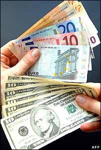 dolares y euros