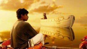 la vida de Pi, chico mirando el cielo