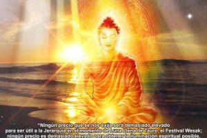 Sobre la Bendición de Buda en Wesak  por Vicente Beltrán Anglada