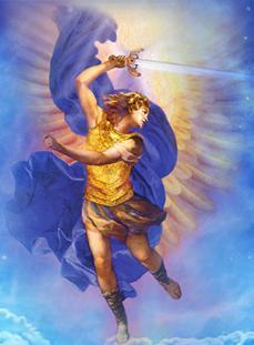 AA Arcángel Miguel con su espada