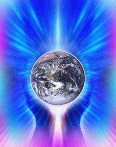 Gaia- Tierra brillando entre las manos