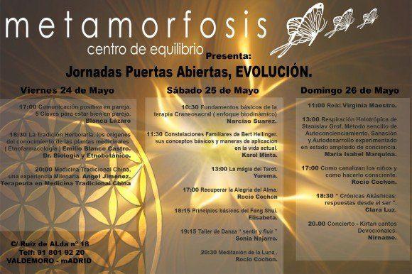 cartel centro metamorfosis