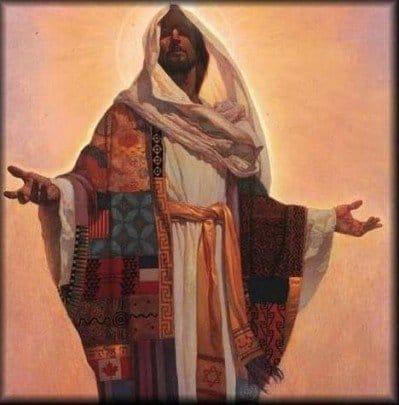 Maestro Jesús en oración jeshua