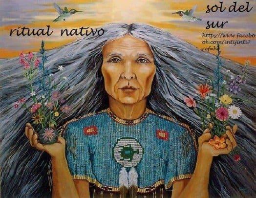 ritual nativo- sol de sur
