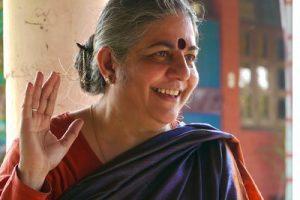 """Vandana Shiva: """"La revolución es inevitable y será ecológica"""""""