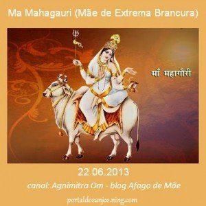 Ma Mahagauri (Madre de Extrema Blancura)