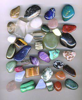 cuarzos rodados  de colores