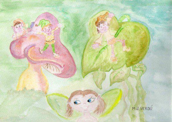 Acuarelas de cuentos de hadas para todos cuentos mjverdu