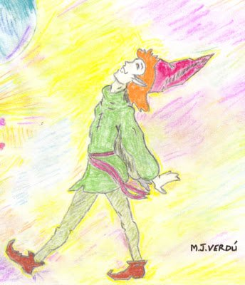 maria jesus verdú Duende caminando por la vida con alegria