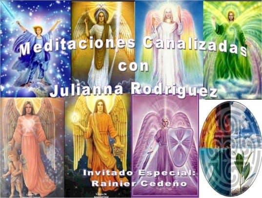 meditaciones canalizadas en Caracas Venezuela