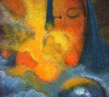 Divina Madre – Todos mis Nombres y Rostros  Del Colectivo de los Niños de la Ley del Uno a través de Agnimitra