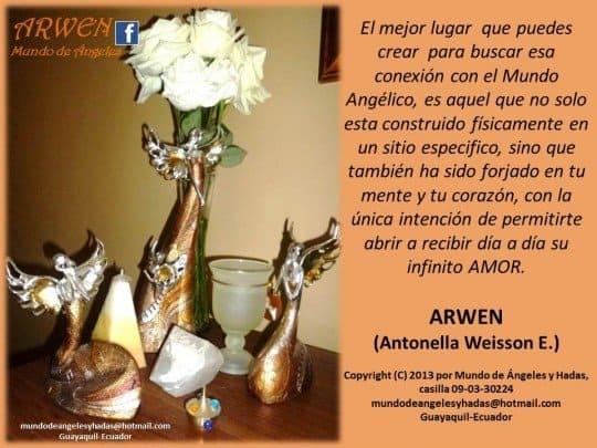 Altar angelico de Arwen