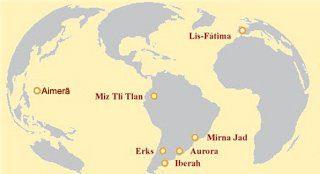 MAPA DE LOS CENTROS PLANETARIOS