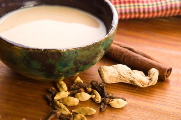 El té indio o masala chai