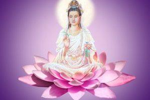 Madre divina, la pobreza del corazón, Kuan-yin,