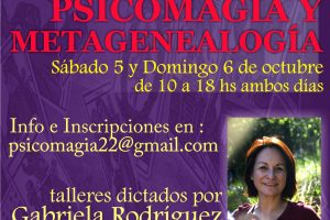 Taller de Psicomagia, Octubre 2013 Argentina