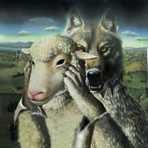Lobo y cordero