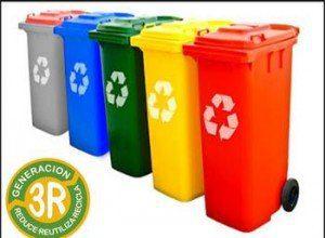 bidones de reciclaje